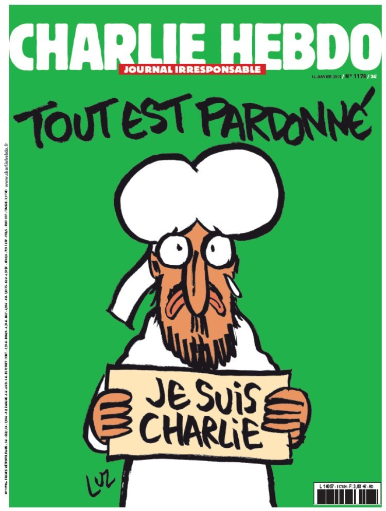 Charle Hebdo cover